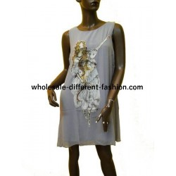 tunic dress summer brand v fashion 306B for boutiques clothing