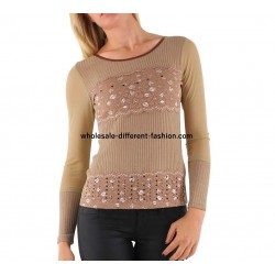 t-shirts tops blouses winter brand LULU 5708