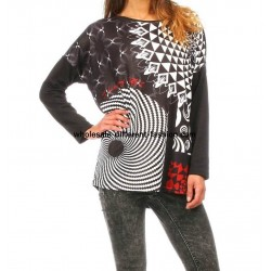 t-shirts tops blouses winter brand 101 idees 278 IN distributors
