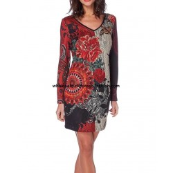 dress tunic lace winter 101 idées 234W