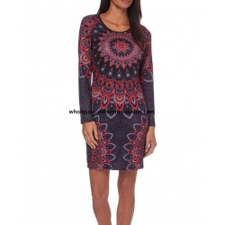 dress tunic mandalas winter 101 idées 315IN wholesale french clothes