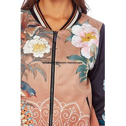 bomber print mid season 101 idées 351BOM cheap wholesale clothing