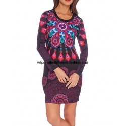 dress tunic print mid season 101 idées 401L