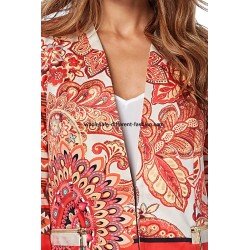 jacket print mid season 101 idées 312VE stockist desigual