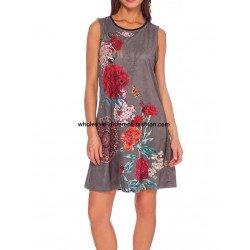 dress plus size suede ethnic summer 101 idées 367Y LARGE