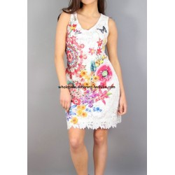 dress plus size print summer 101 idées 1105Y