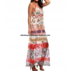 maxidress lace ethnic summer 101 idées 394VRA
