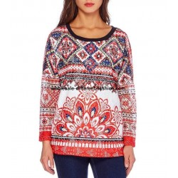 buy french sweat top lace winter ethnic 101 idées 093W