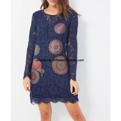 supplier fashion dress tunic lace chic 101 idées 916W