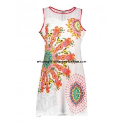 dress tunic lace summer ethnic floral 101 idées 637Y french clothing