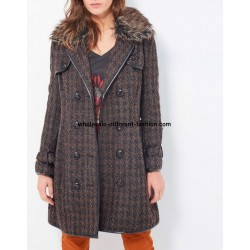 supplier fashion winter coat with fur brand 101 idees 83743