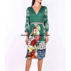 buy bulk dress tunic floral print summer 101 idées 3614P